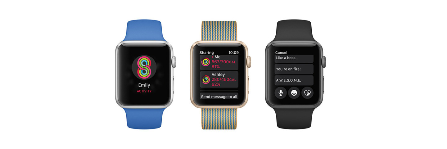Sharing Apple Watch Activity