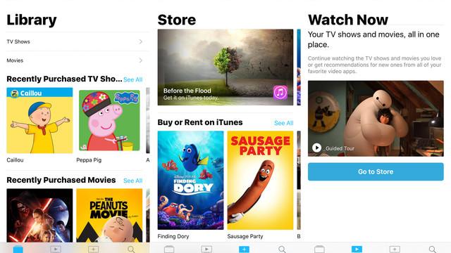 Apple's TV App Arrives in iOS 10.2 Beta 2