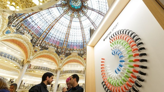 Apple Watch Pop Up Shop in Galeries Lafayette Closing Due to Poor Sales