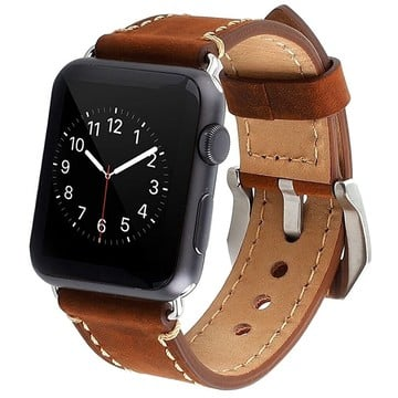 The Best Non-Apple Brown Classic Buckle Apple Watch Band