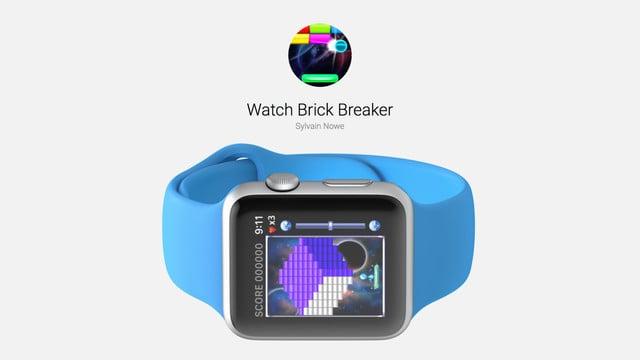 Watch Brick Breaker is a Simple Apple Watch Game