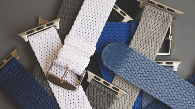 Perlon Apple Watch Bands Add European Flair