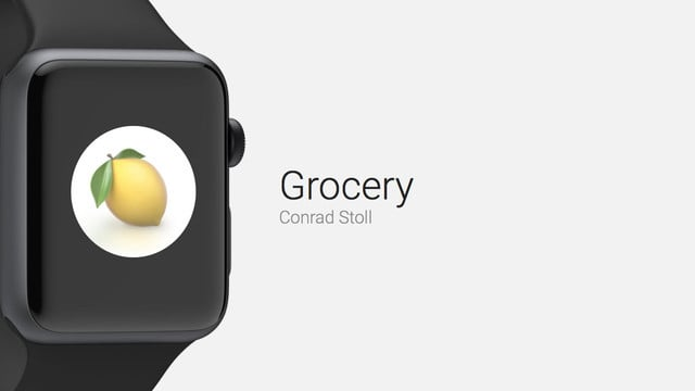 Grocery is a Great Grocery Shopping App for Apple Watch