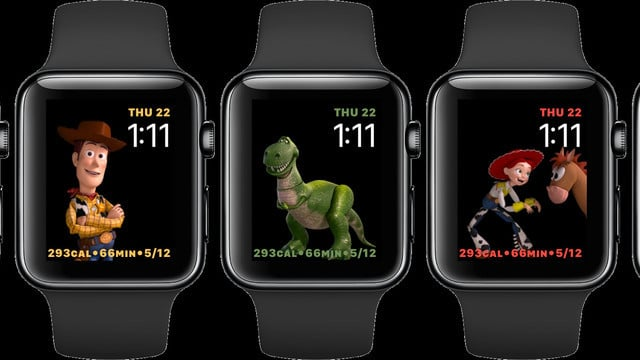 Toy Story Apple Watch Faces Arrive in watchOS 4 Beta 2